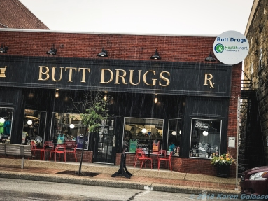 4 25 19 Butt Drugs Corydon IN side trip off the highway after seeing the sign (1 of 11)