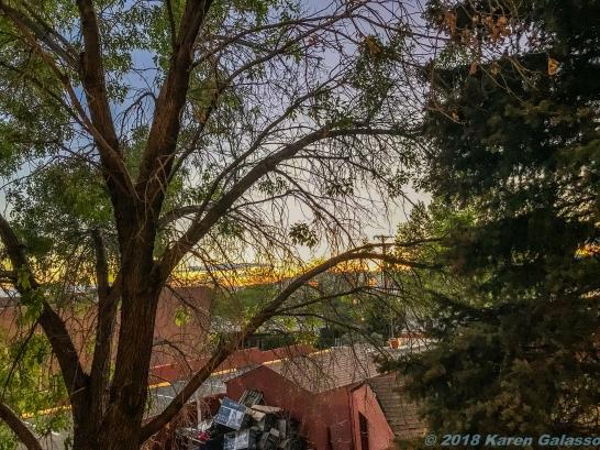 5 12 19 Doubletree Santa Fe NM balcony view (1 of 5)