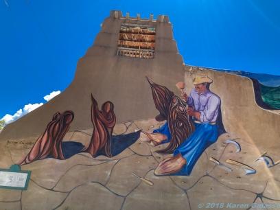 5 14 19 Mural leaving Taos NM (1 of 1)