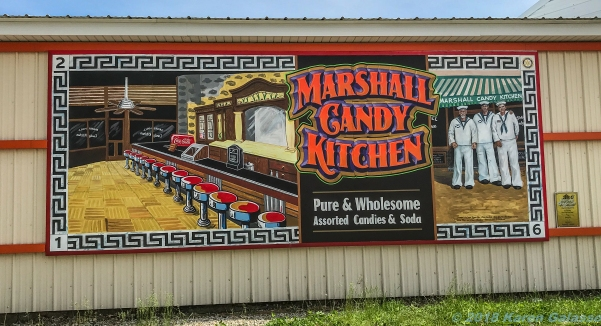5 18 19 Marshall IL antique cars murals lions world's largest gavel We Are Marshall (15 of 30)