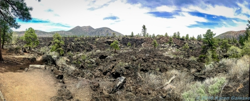 5 6 19 Part of Sunset Crater Volcano North of Flagstaff AZ #2 (5 of 17)