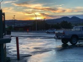 5 7 19 Sunset after the storm Prescott AZ (2 of 3)
