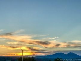 5 7 19 Sunset after the storm Prescott AZ (3 of 3)