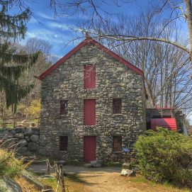 Longfellows Wayside Inn Grist Mill Sudbury MA
