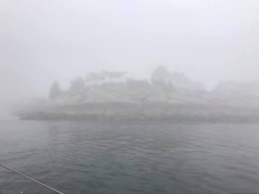 7 10 20 Silverlining morning sail fog