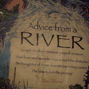 What a river advises